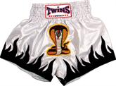 Twins Thai Style Trunks Cobra W/Flames